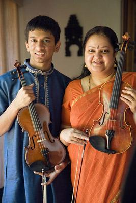 Suhas Rao and Tara Anand Bangalore. Photo by Billy Howard.