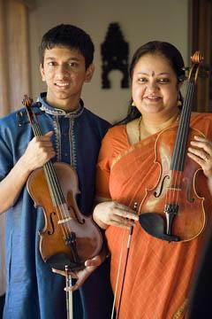 Suhas Rao and Tara Anand Bangalore, MCC apprenticeship grantees, 2007. Photo by Billy Howard.