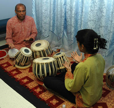 Chris Pereji and Nisha Purushotham