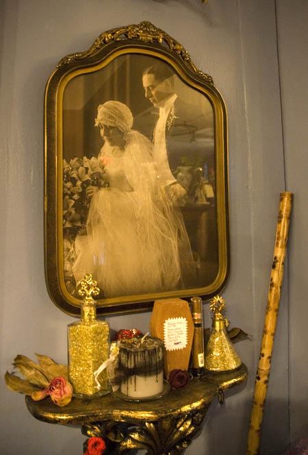 Parents wedding photo