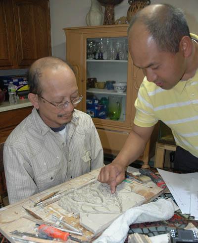 Yary Livan and Samnang Khoen