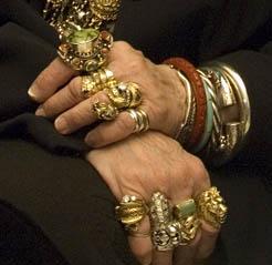 Lori Bruno's hands