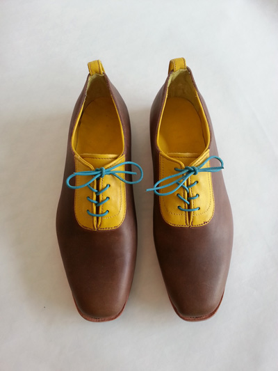 Hand made shoes by Daphne Board