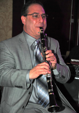 Malcolm Barsamian on saxophone