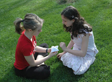 Playing with a fortune teller