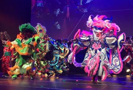 Asociacion Carnvalesca on stage