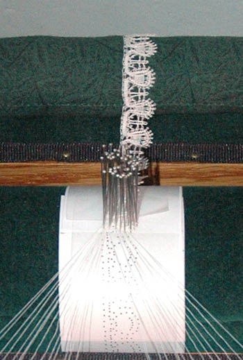 lace in the making