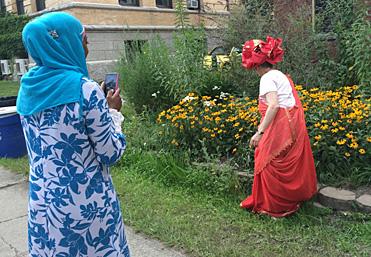 Lakshmi_Qamaria shooting photo
