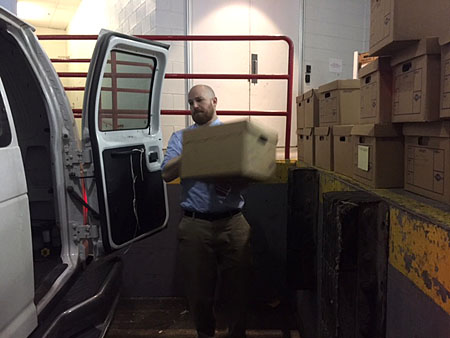 Archives_Mike loading truck