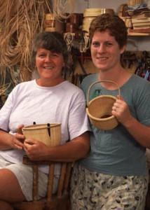 Karol Lindquist and Timalyne Frazier