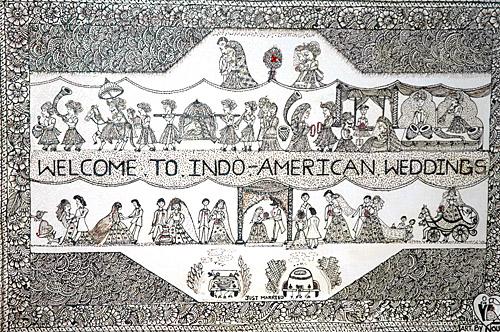 Noureen Sultana Indo American weddings