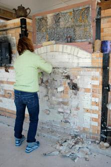 Diane unpapering kiln