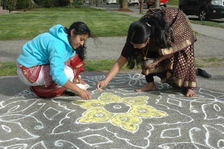 Sathya and Geetha